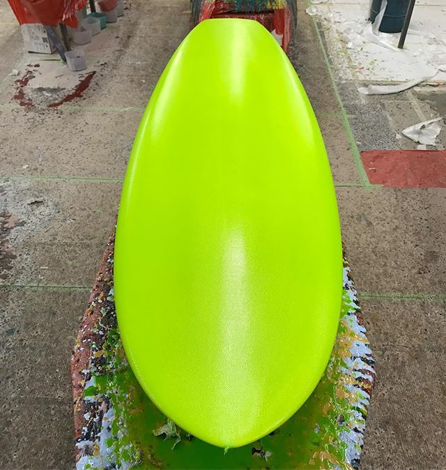 """5'8"""" #diamond tail #custom #surfboard #resin #cutlap #reverselayup 🏀#australia #noosa #surf #brisbane #sydney #hawaii #makaha #sandiego #stringerless #flex #sandiego #sandiegoconnection #sdlocals #sandiegolocals - posted by Matt Wilkerson https://www.instagram.com/surfcraft_wilkerson. See more post on San Diego at http://sdconnection.com"""