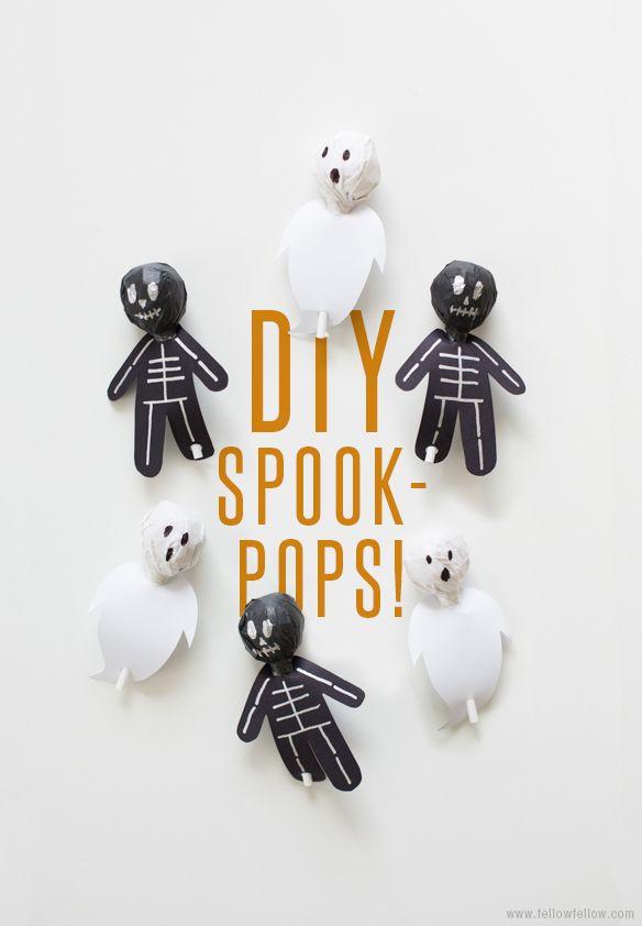 DIY Spook-Pops!
