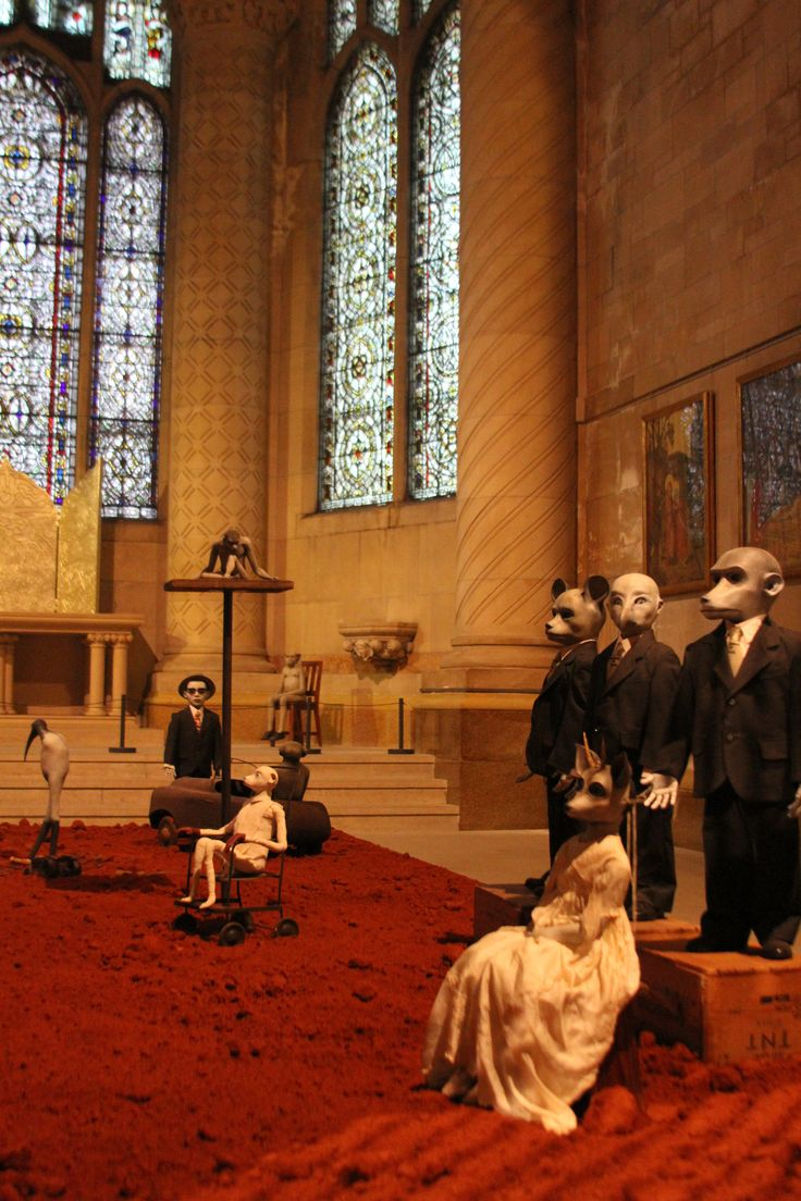 Strange Cargo: Jane Alexander at the Cathedral of St. John the Divine   Africa is a Country