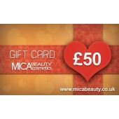 Make someone happy with the gift of mineral cosmetics! Available for purchase in £50, £100 and £200 virtual gift cards.
