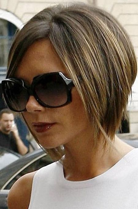 short hair pinterest 2014 calendar | Classy angled bob haircut pictures