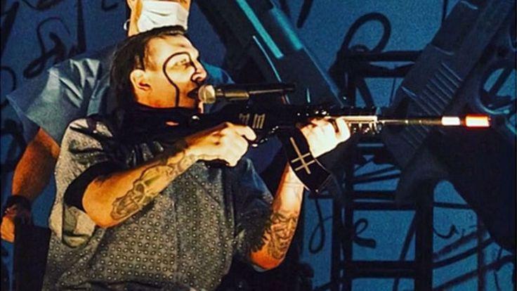 Promi-News des Tages: Kurz nach Texas: Marilyn Manson zielt ins Publikum
