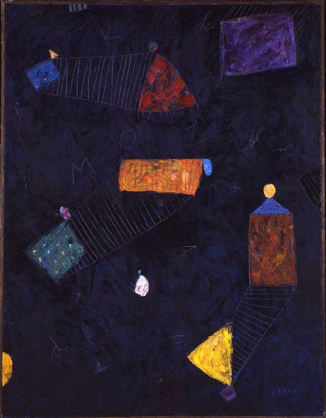 Mladen KARAN  | Gypsy Camp | Contemporary art n Florence |