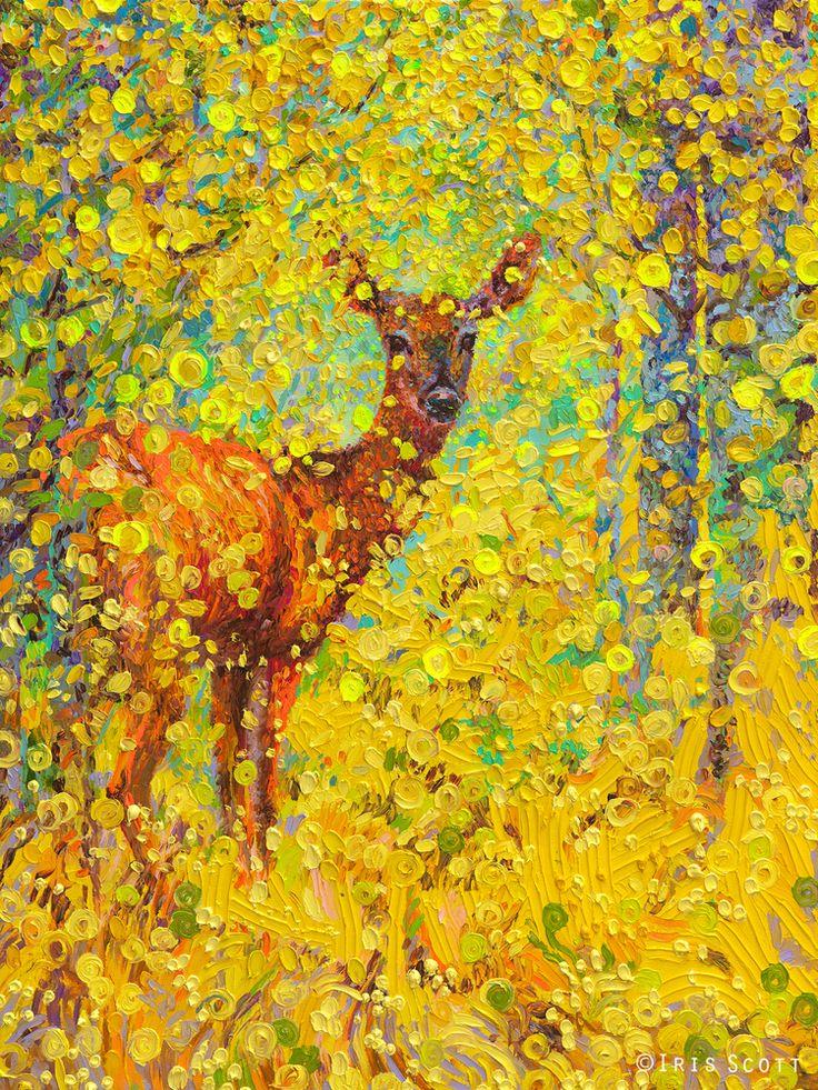 Whitetail Deer | 36x48in  Original SOLD |  Buy Prints