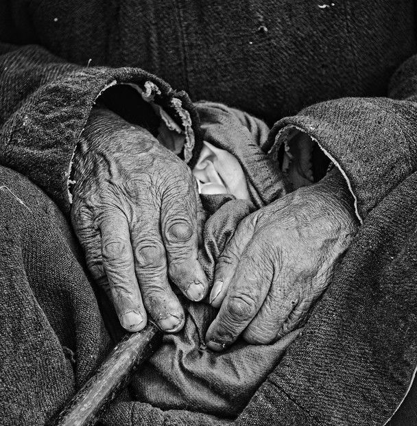 Photo and caption by Jishnu Changkakoti    The weather-beaten, gnarled hands of a monk in Leh, Ladakh bear testimony to a lifetime of experiences, all spent in the harsh environments of one of the highest plateus in the world.    Location: Leh, Ladakh, India