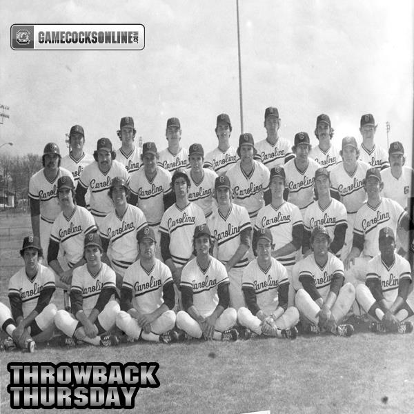 The 1977 South Carolina baseball team went all the way to the national championship game at the College World Series.