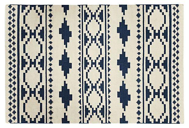 Bokrum Blue Tribe Rug // OneKingsLane.com