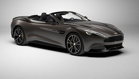 The Unique Model Of Aston Martin.