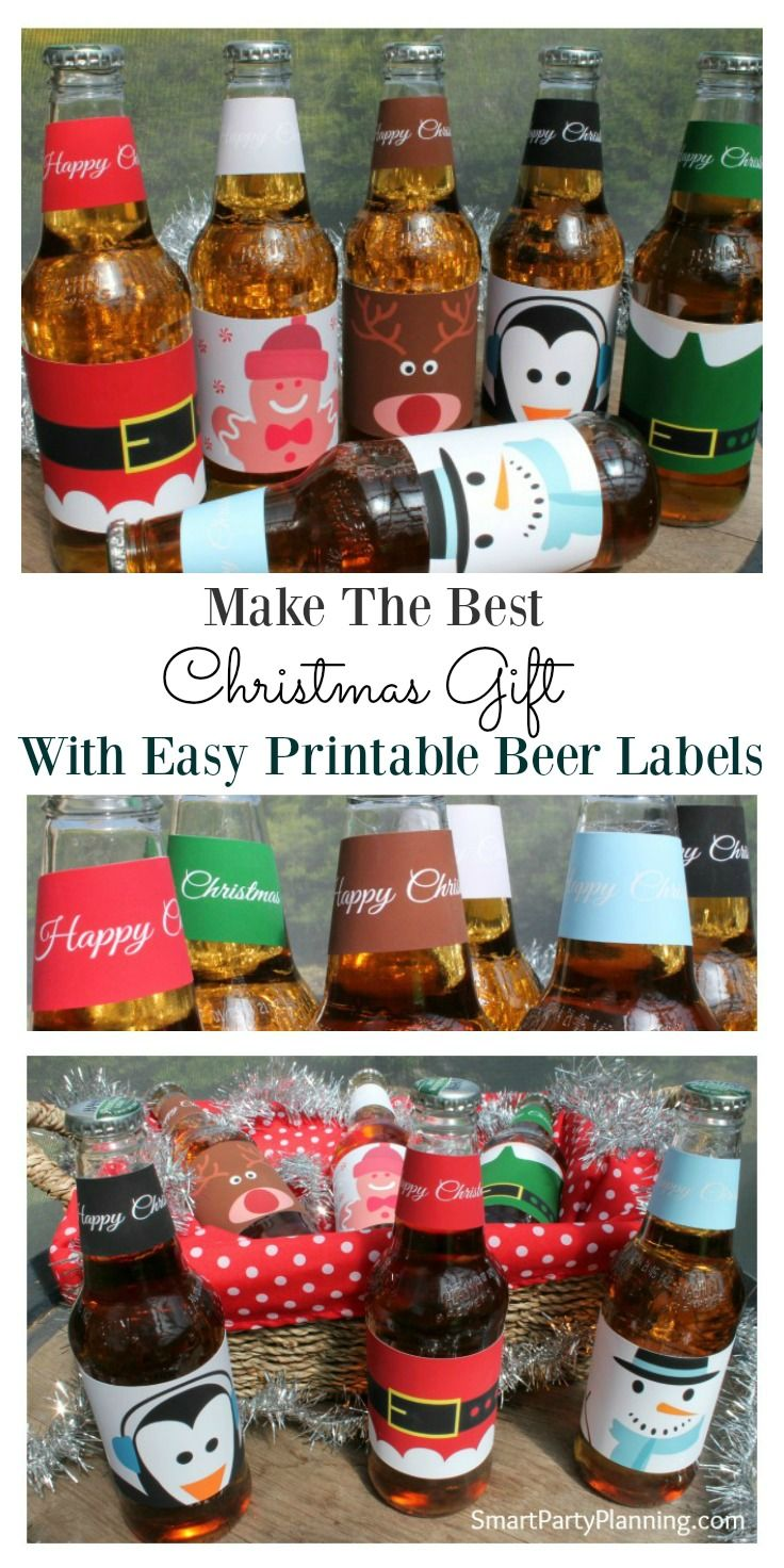 Printable beer labels are the perfect gift idea for your man this Christmas.  It is quick and easy to prepare and you know it is going to be something he will love.  For a cost effective, easy, different gift idea this definitely ticks all the box's. Alte