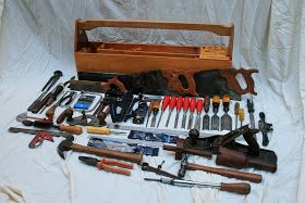 The Joy of Wood: Tool Chest? Nah... give me an open tool box.