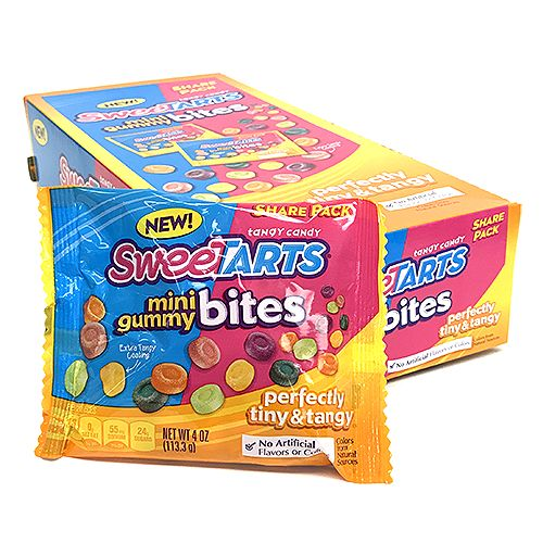 SweeTARTS Mini Gummi Bites - 4-oz. Share Pack