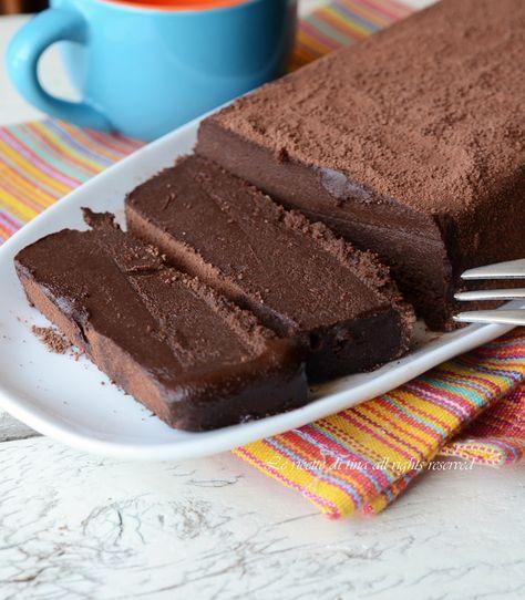 Chocolate briquette: Mattonella di cioccolato,un dolce al cucchiaio goloso e semplice da preparare