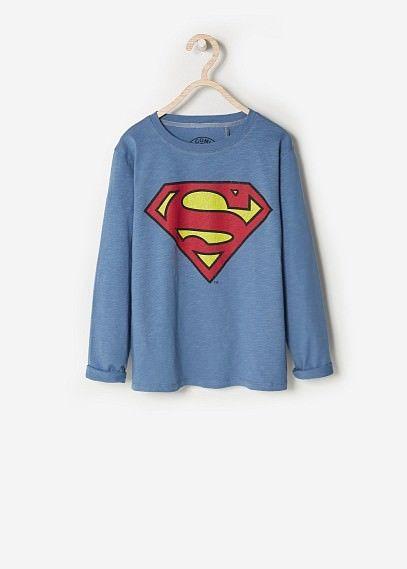 Camiseta de súper héroe Mango  MANGO KIDS - Superhero t-shirt #SS15