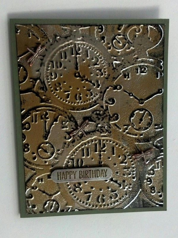 Impressions of tarnished foil by muscrat - Cards and Paper Crafts at Splitcoaststampers