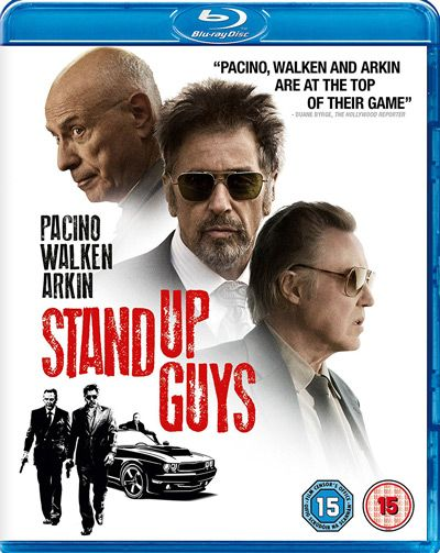 Stand Up Guys (2012) Crime, Comedy. Directed by Fisher Stevens, Starring Al Pacino, Christopher Walken, Alan Arkin, Julianna Margulies. See our Blu-ray review: https://www.popcorncinemashow.com/2017/01/30/stand-up-guys-blu-ray-review/