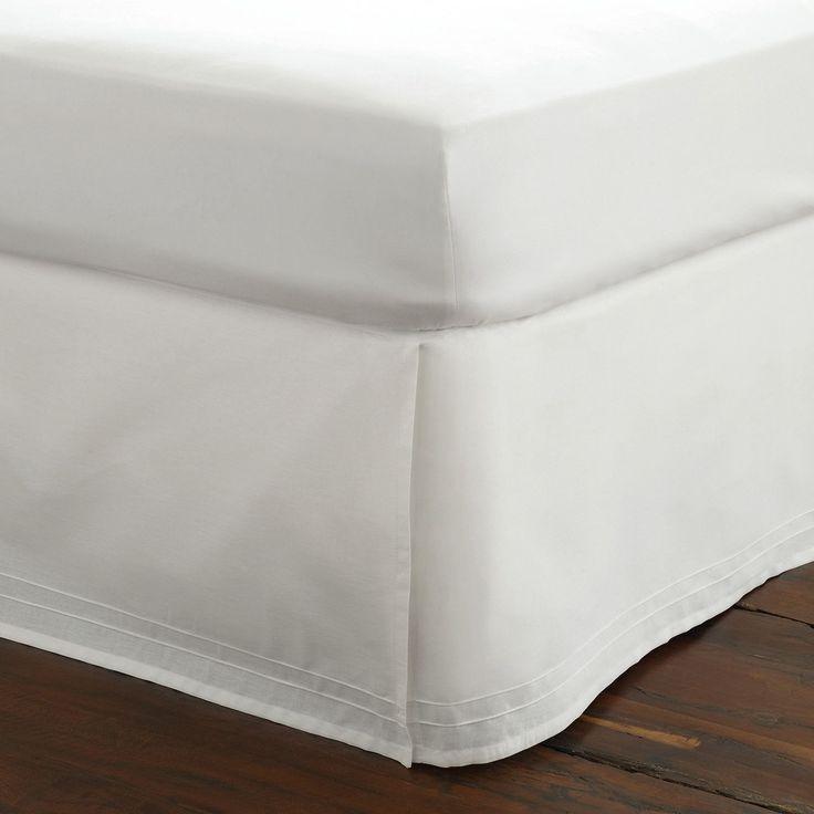 Maisy Bed Skirt in White