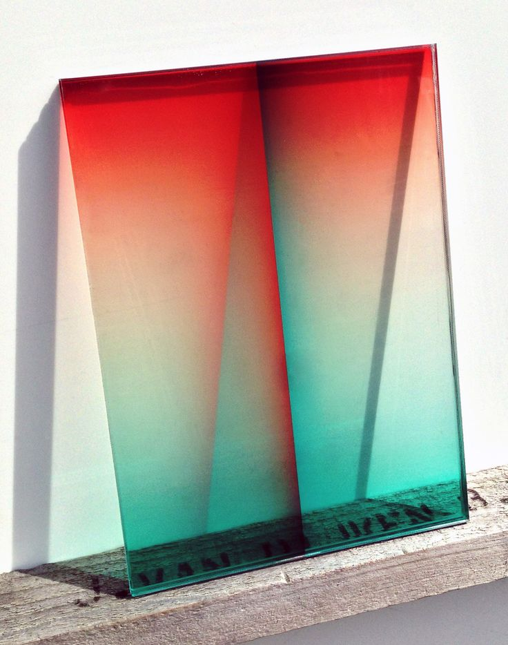 Ombre glass experiments by Amsterdam Designer Germans Ermics | sightunseen.com