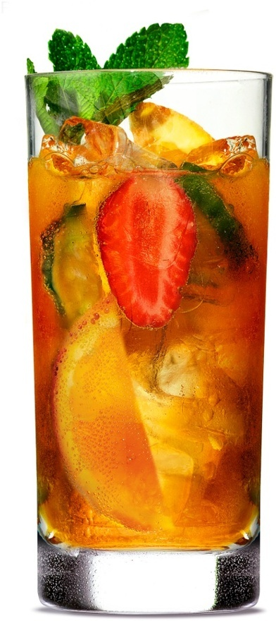 My new fav drink: Pimms Cup 8 oz. Pimms No. 1 24 oz. chilled lemon ...
