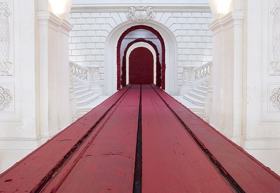 "ANISH KAPOOR - Musée des Beaux Arts, Nantes 2007  ""Svayambh"""