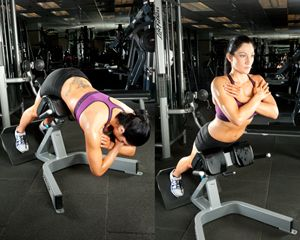 Strengthen your glutes to ensure you get the most out of your leg day!!!!