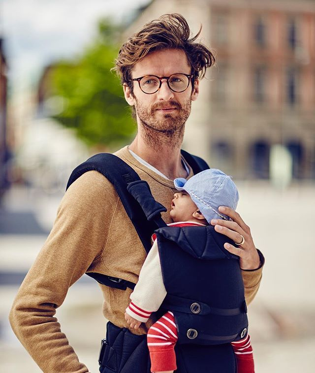 WEBSTA @ najell_official - Coming soon! The Omni has an newborn position with a wide hip healthy position for your baby. Can be used from day one. #omni #najell #dad #babycarrier #gravid #pregnant #swedish #design