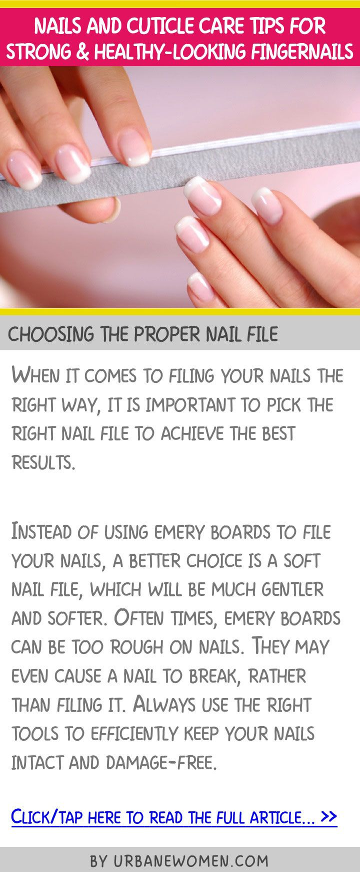 76 best nail filing images on Pinterest