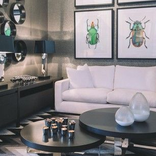 On trend with beetles and cool metallics at Boyd Blue Brisbane #boydblue #designerboys #metallic #silver #beetle #beetles #bug #design #inte...