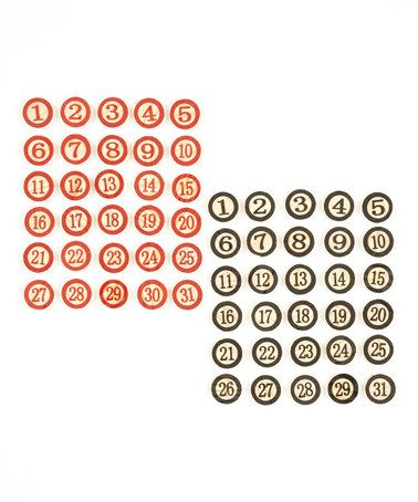 This Bingo Chip Set is perfect! #zulilyfinds