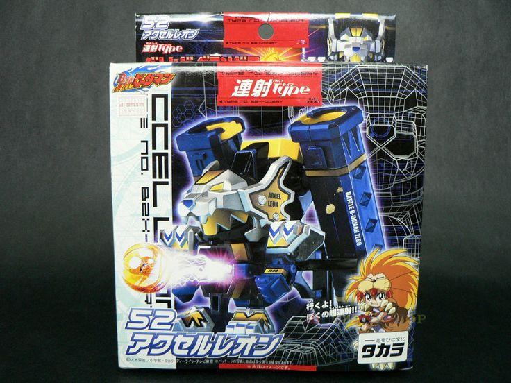 New Takara Battle B-Daman Zero 2 Accel Leon BZX-006RT 52 Japan Cartoon Figure