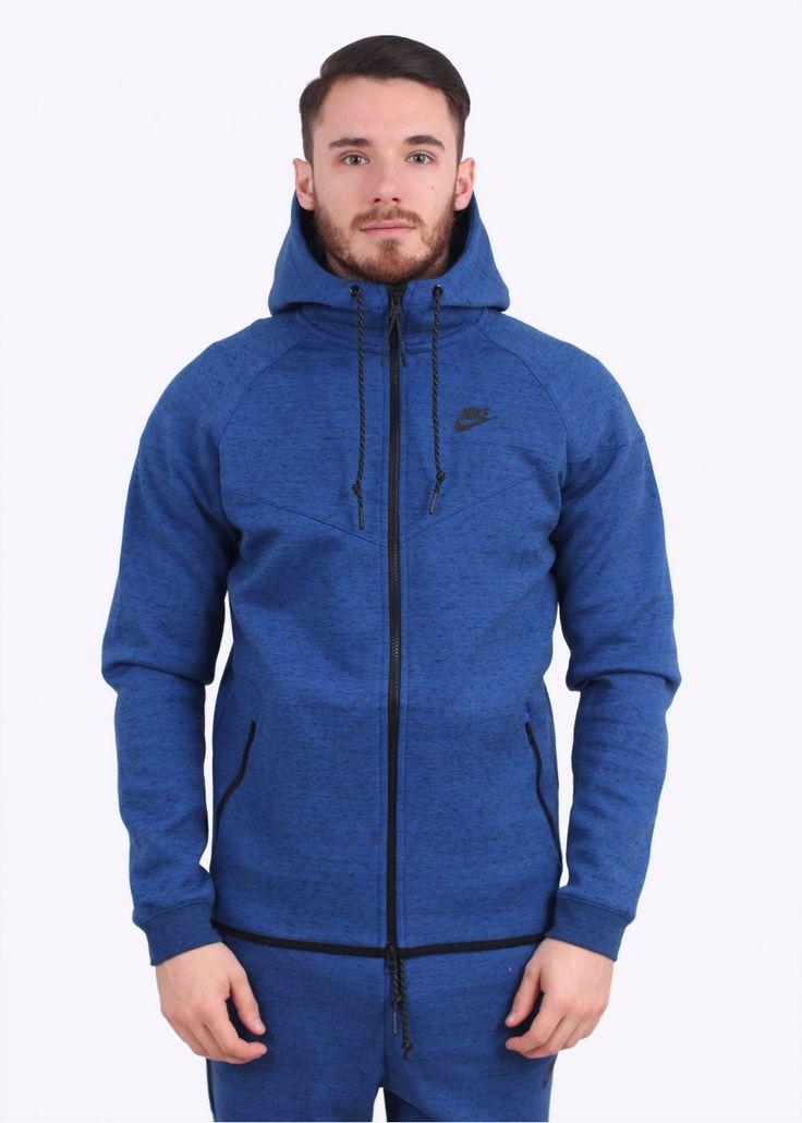 Nike apparel tech fleece windrunner game royal blue