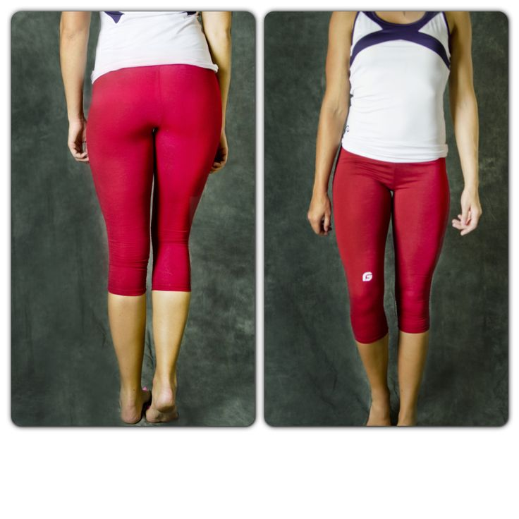 YOUTH Get Slim Capris. Perfect for dance, tumbling, cheer, or any sport requiring you to move!   Only $12.50!!!!!!!!!!!!!  Colors come in black, red, and purple!   Get them here: http://getfitwear.com/product/get-slim-capris/