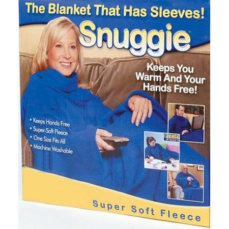 Snuggie! The Blanket That Has Sleeves! Pay R189.99 including nationwide delivery. - Redchillideals - Impact Video