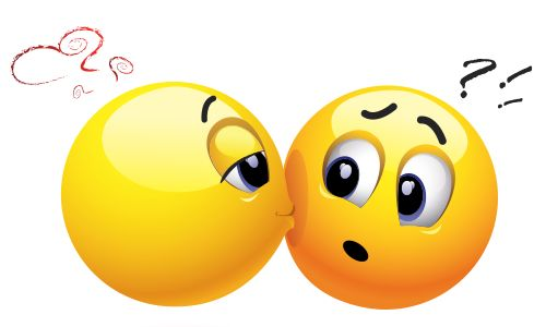 Surprise Kiss | Emoticon and Kiss