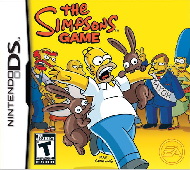Game PC Rip - The Simpsons Game [Español] [NDS] [Eur]