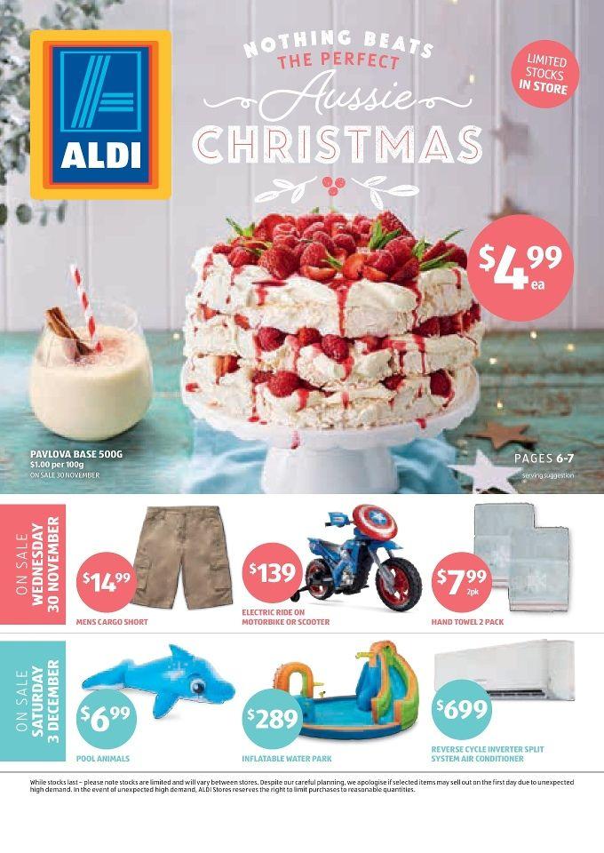 Aldi Catalogue Specials, 30 November - 6 December 2016 - http://olcatalogue.com/aldi/aldi-catalogue-specials.html