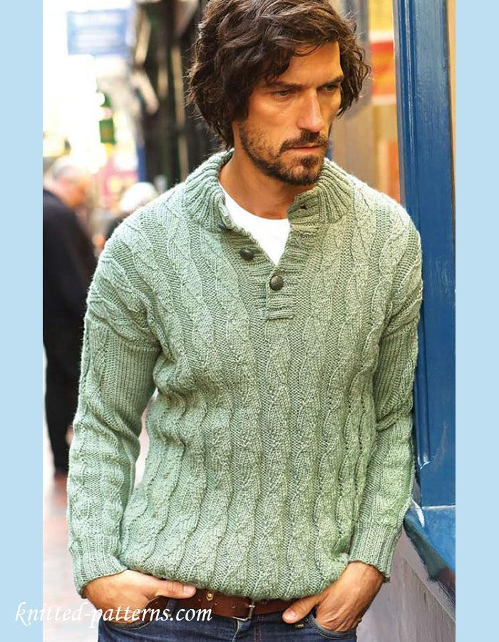 143 Best Men Images On Pinterest Free Knitting Knit Patterns And