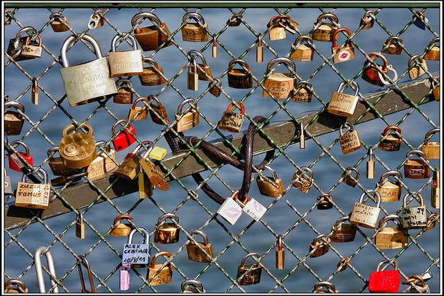 Love padlock / Cadenas de l'amour