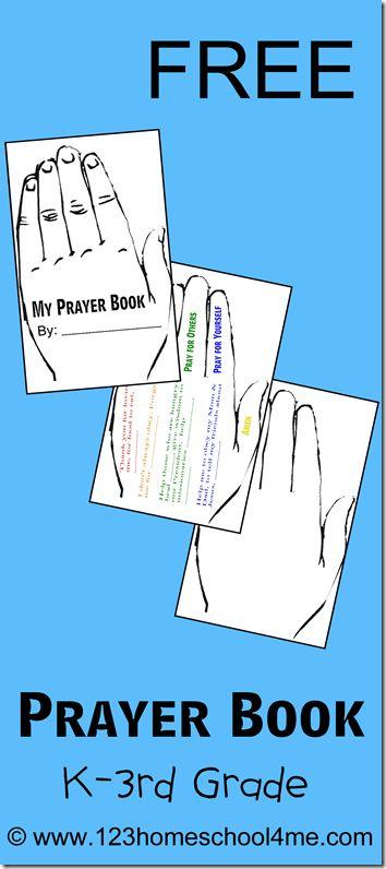 free prayer book for kids - Printable Books For Kids