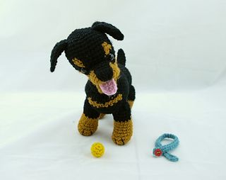Tinkerbell Amigurumi Free Pattern : Rottweiler puppy amigurumi free crochet pattern ...