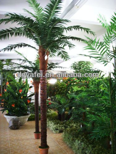 plastic palm tree cheap artificial trees large outdoor artificial trees buy plastic palm tree. Black Bedroom Furniture Sets. Home Design Ideas