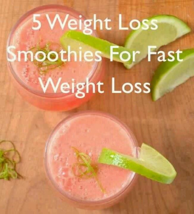 5 Great Weight Loss Smoothies