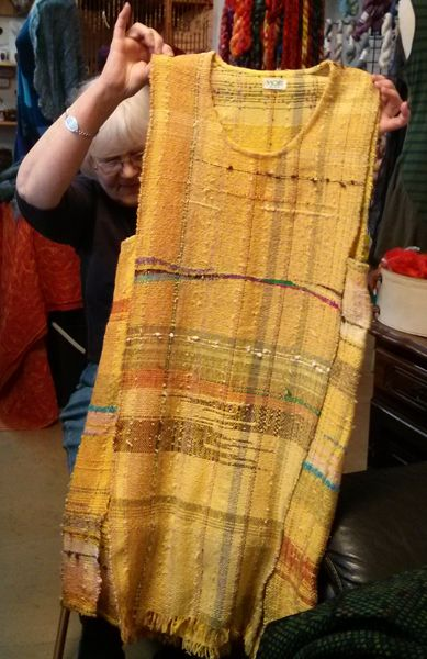 kai-yellow-dress--actually would wear as tunic over jeans or linen pants