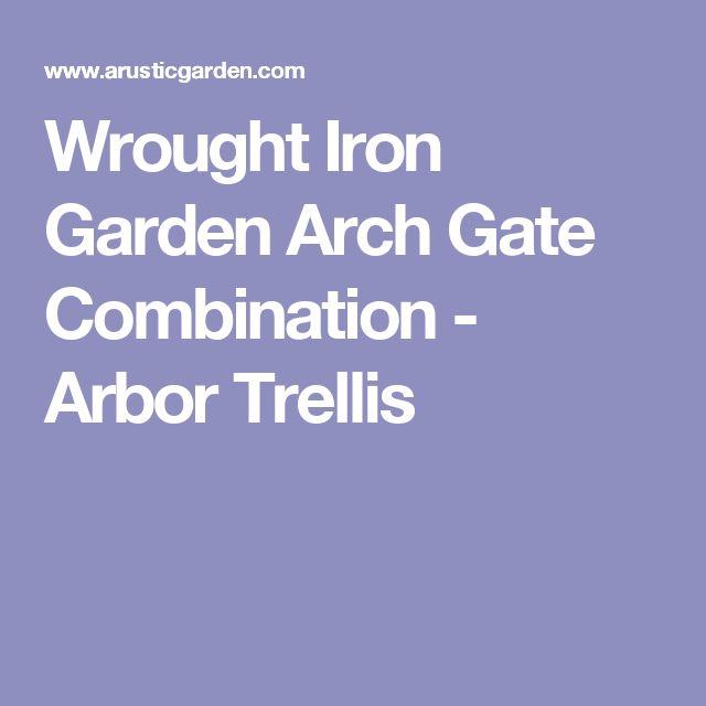 25 Best Ideas About Wrought Iron Trellis On Pinterest