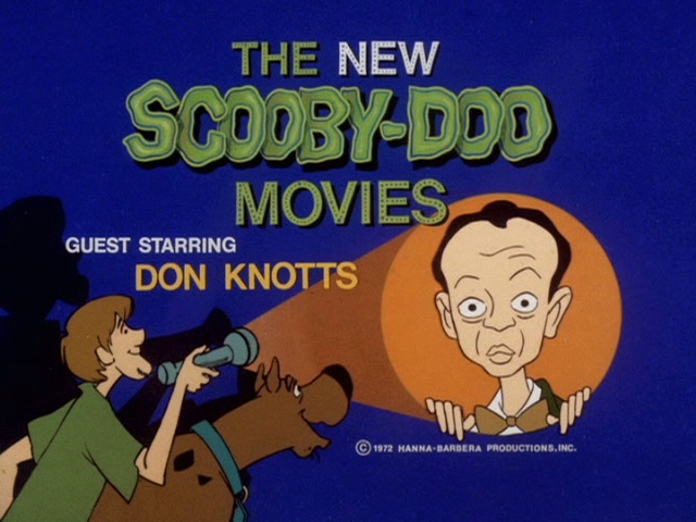 The New Scooby-Doo Movies guest starring Don Knotts,,,,ROOOBY ROOOBY ROOOO!!