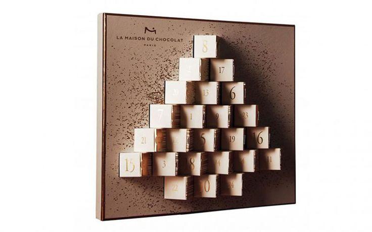 Le Calendrier de l'Avent de la Maison du Chocolat #chocolat #calendrierdelavent #noel #christmas #xmas #gastronomie #gastronomy