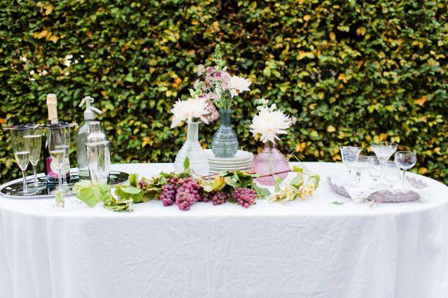 Styled shoot: bruiloft met paarse elementen   ThePerfectWedding.nl