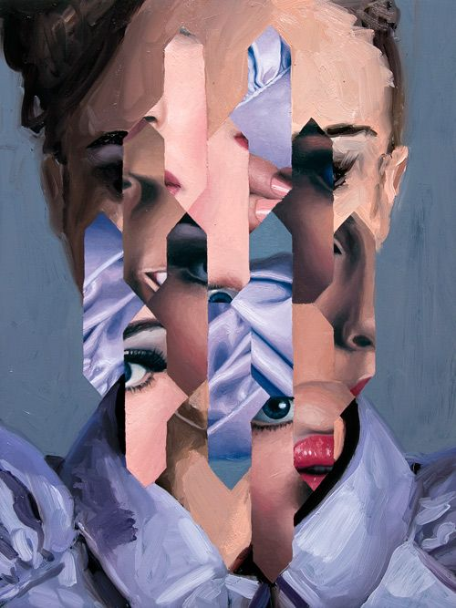 Magazine - Jeremy Olson's Geometric Paintings
