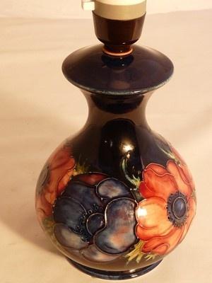 43 best moorcroft lamps i love images on pinterest lamps light table lamp moorcroft aloadofball Images