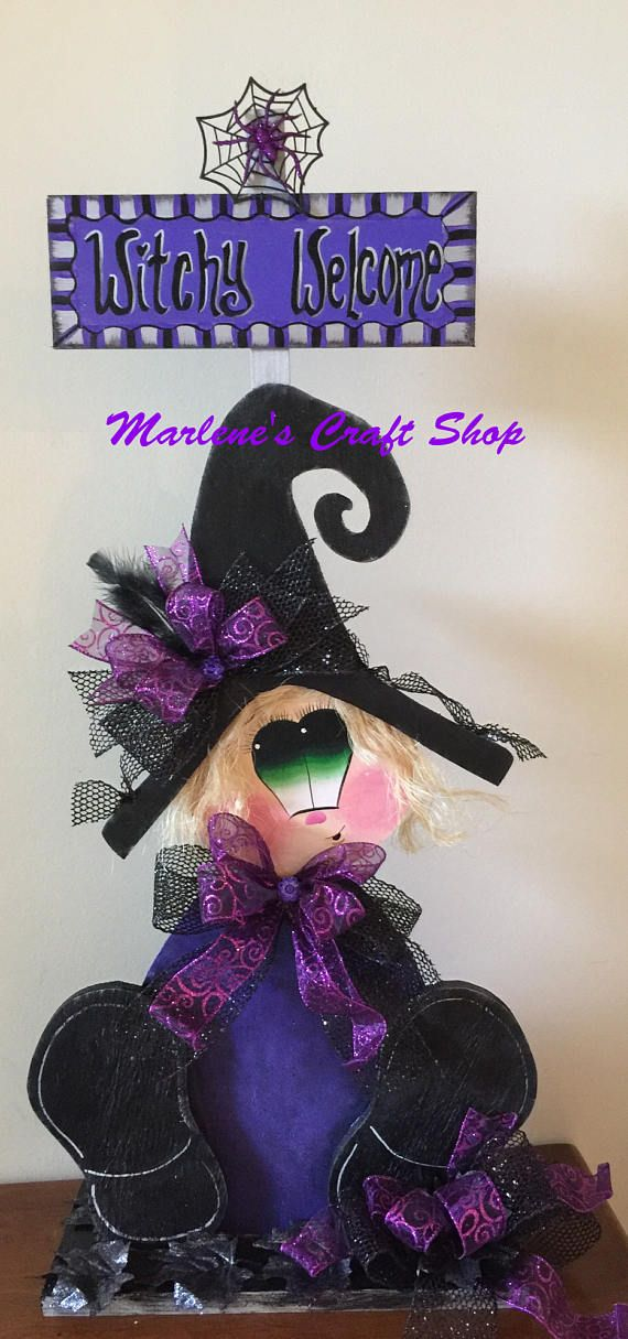 Hey, I found this really awesome Etsy listing at https://www.etsy.com/listing/526889146/halloween-witch-decorationhalloween