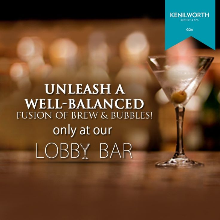 Lobby Bar awaits you with refreshing drinks that will make you enjoy the sheer pleasures of life.